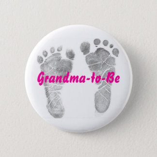 Grandma-to-Be 6 Cm Round Badge