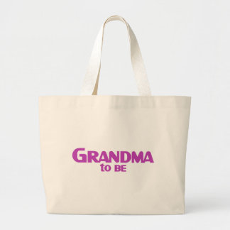 Grandma to Be Canvas Bag