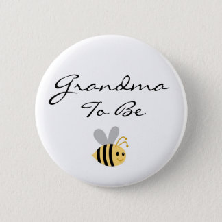 Grandma to Be Bumble Bee Pin