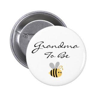 Grandma to Be Bumble Bee Pin
