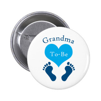 Grandma To-Be Buttons