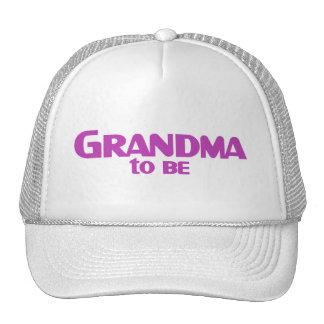 Grandma to Be Mesh Hats