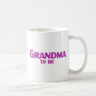 Grandma to Be Coffee Mug