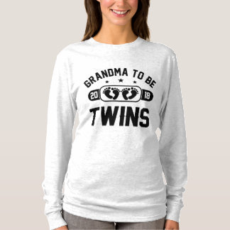 Grandma To Be Twins 2018 T-Shirt