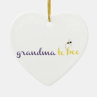 Grandma To Bee Christmas Ornament