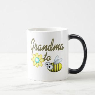 Grandma to Bee Morphing Mug