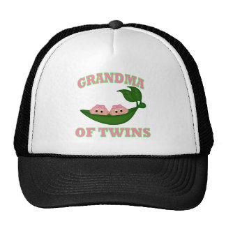 Grandma to Twin Girls Cap