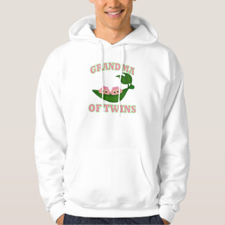 Grandma to Twin Girls Hooded Sweatshirt