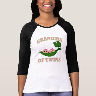 Grandma to Twin Girls Tshirt