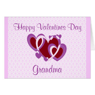 GRANDMA VALENTINES DAY CARD