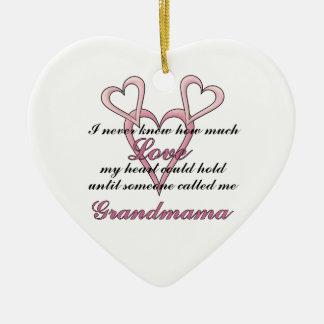Grandmama (I Never Knew) Decorative Ornament