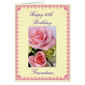 Grandma's 95th Birthday Card