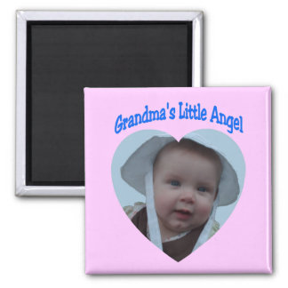 Grandmas Angel Square Magnet