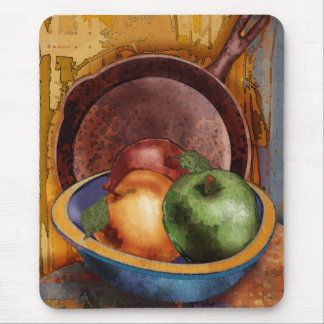 Grandma's Apples Mouse Mat