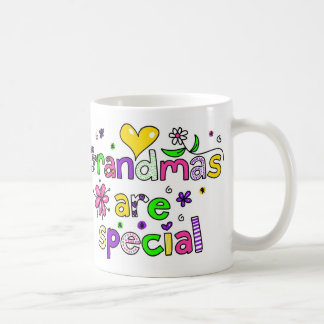 Grandmas are Special Basic White Mug