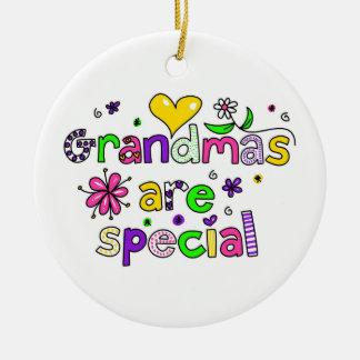 Grandmas Are Special Christmas Ornament