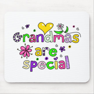 Grandmas are Special Mouse Mat