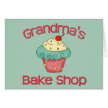 Grandma's bake shop cards