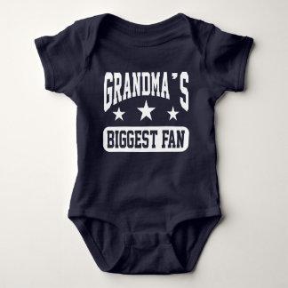 Grandma's Biggest Fan Baby Bodysuit
