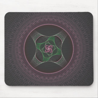 Grandma's Cabbage Rose Doily Mouse Mat