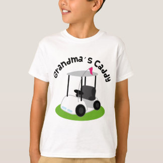 Grandmas Caddy (Golf) T-Shirt