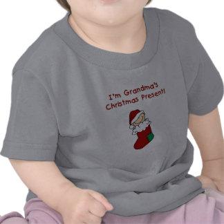 Grandma's Christmas Present Tee Shirt