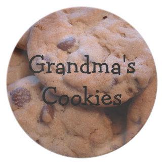 Grandmas Cookies Plate