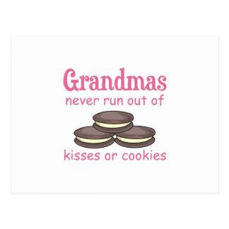 Grandmas Cookies Postcard