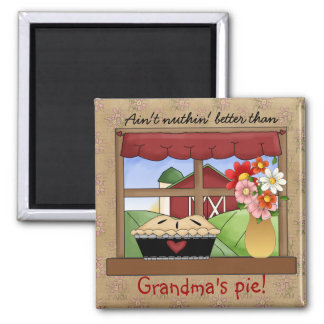 Grandma's Country Pie magnet