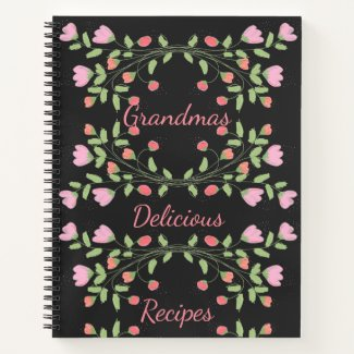 Grandmas Delicious Recipe Notebook