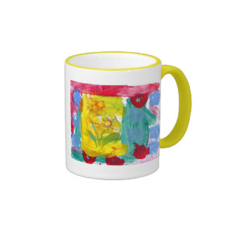 Grandma's Flowers Ringer Mug