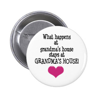 Grandma's House 6 Cm Round Badge