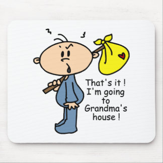 Grandma's House Baby (BLUE) Mouse Pad