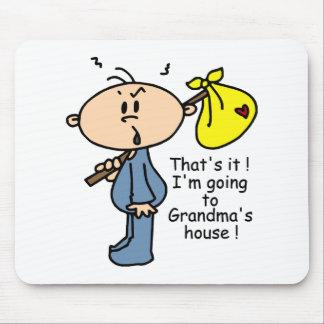 Grandma's House Baby (BLUE) Mousepads