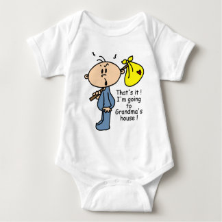 Grandma's House Baby (BLUE) T Shirt