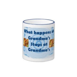 Grandma's House Ringer Mug