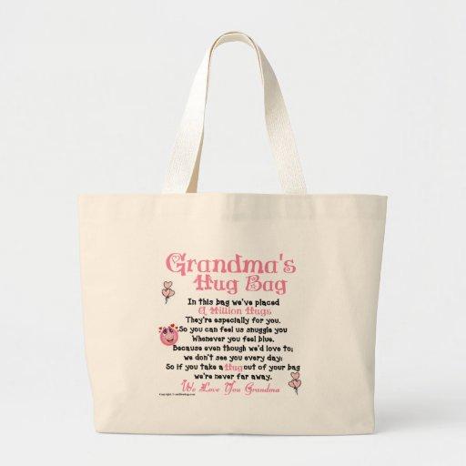 Grandma's Hug Bag - Plural Verse
