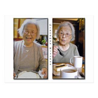 Grandma's Kitchen Postcard