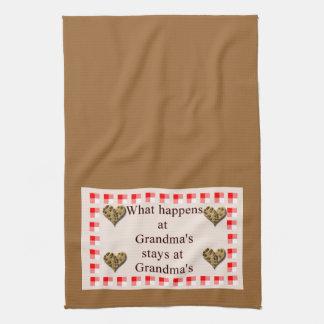 Grandma's Kitchen Towels
