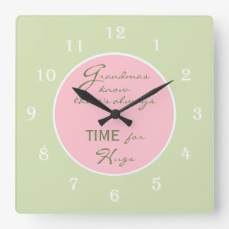 Grandmas Know there's always Time Wall Clock