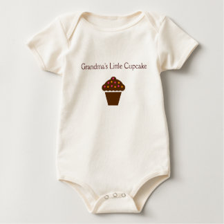 """Grandma's Little Cupcake"" - adorable baby outfit Baby Bodysuit"