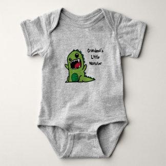 Grandma's Little Monster Baby Vest Baby Bodysuit