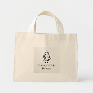 Grandma's Little Princess Mini Tote Bag