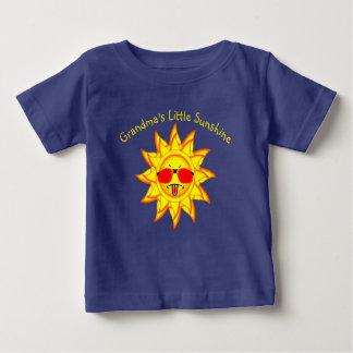 Grandma's Little Sunshine  Sun with Attitude Baby T-Shirt