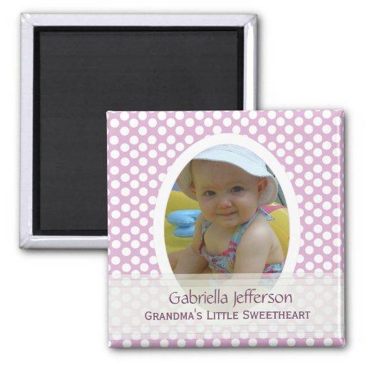 Grandmas Little Sweetheart: Picture Magnet