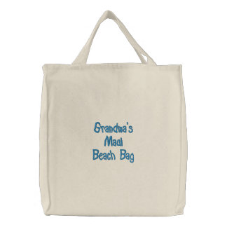 Grandma's Maui Beach Bag
