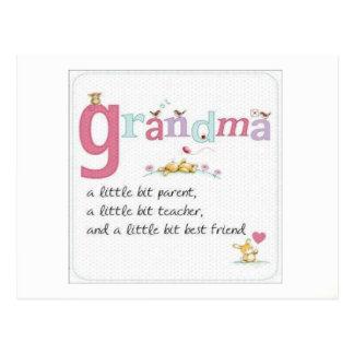 Grandmas Postcard