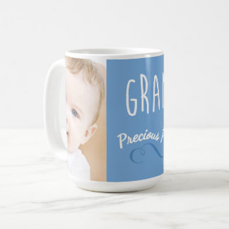 Grandma's Precious Prince | Add Photo Coffee Mug