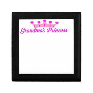Grandma's Princess Small Square Gift Box