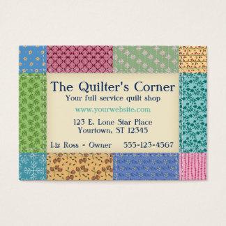 Grandma's Quilt Border Custom Business Card